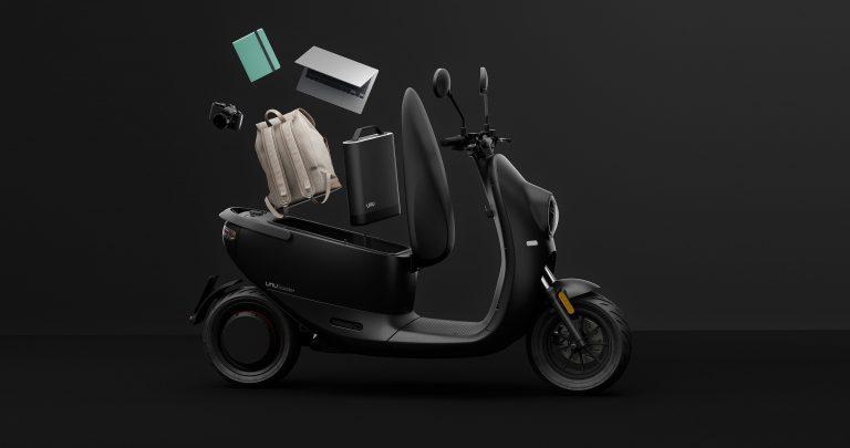 Unu Scooter open helmet package
