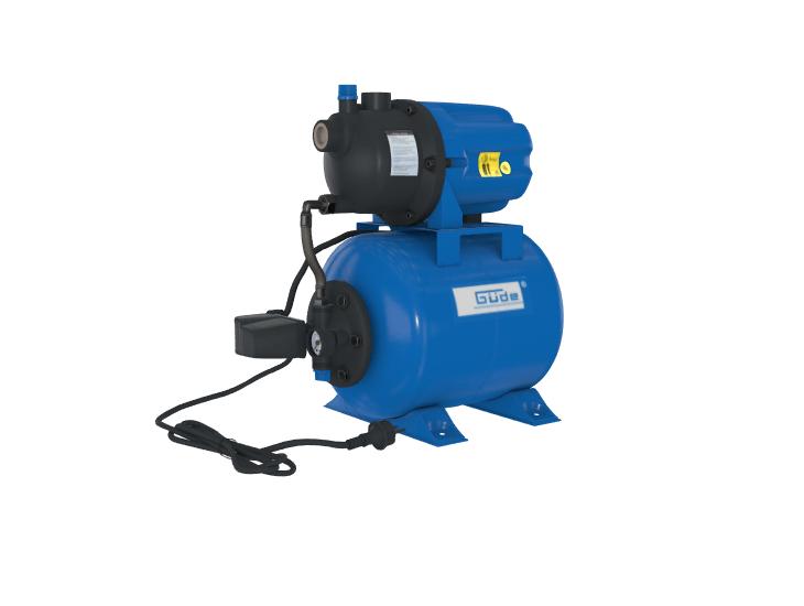 Vorschaubild eines 3d und Augmented Reality Modells eines blauen Hauswasserwerks